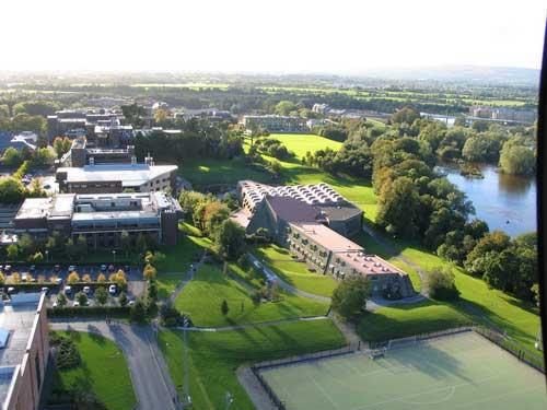 Kết quả hình ảnh cho Đại học Limerick